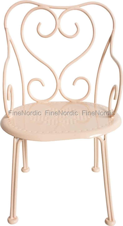 Unglaublich Metall Stuhl Dekoration Von Maileg Kaninchen-zubehör - - Mini Powder