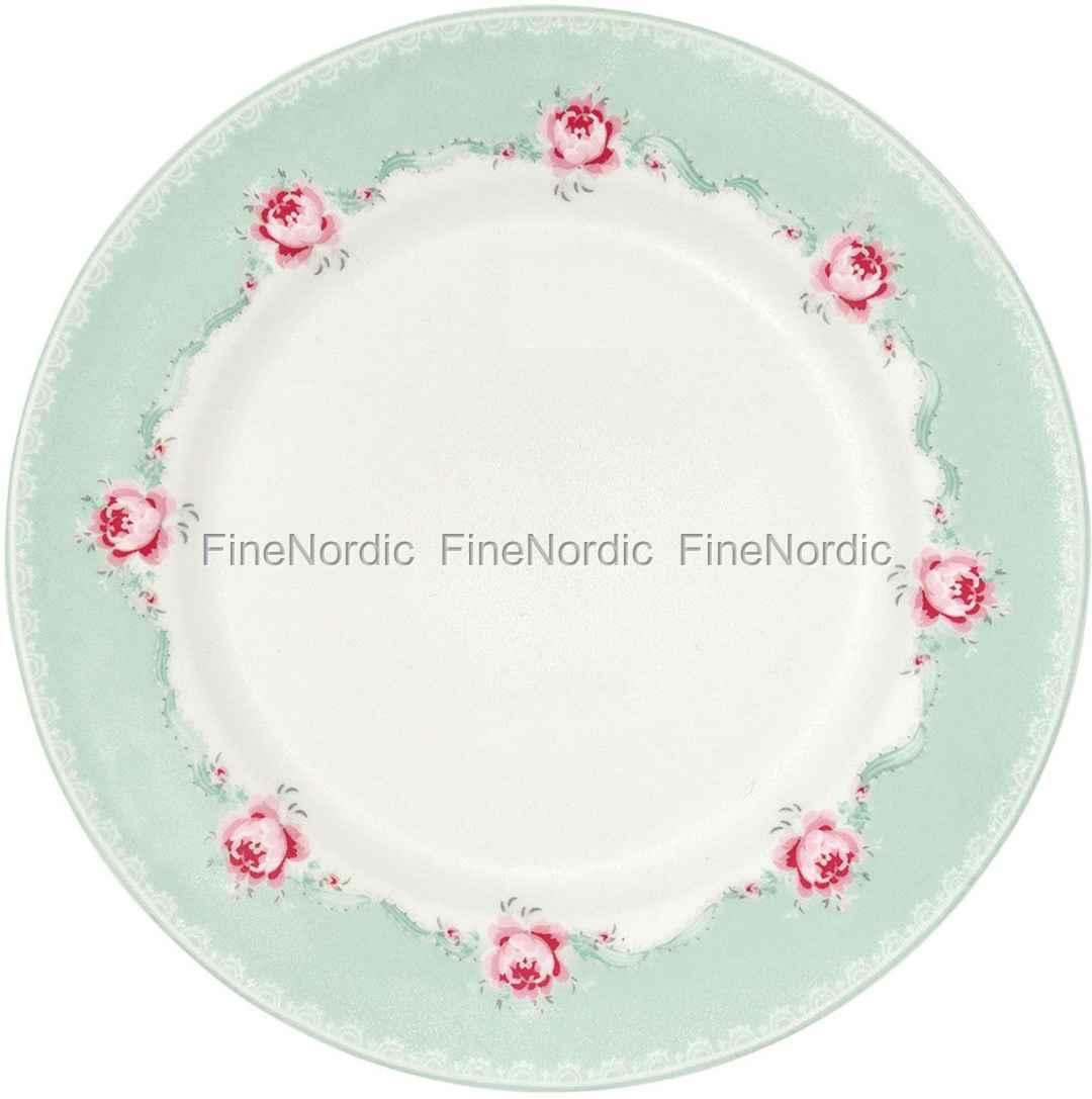 Greengate Teller Plate Betty Mint 20 5 Cm