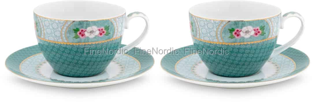 Pip Studio Tassen : pip studio tassen untertassen blushing birds blue 2er set ~ Watch28wear.com Haus und Dekorationen