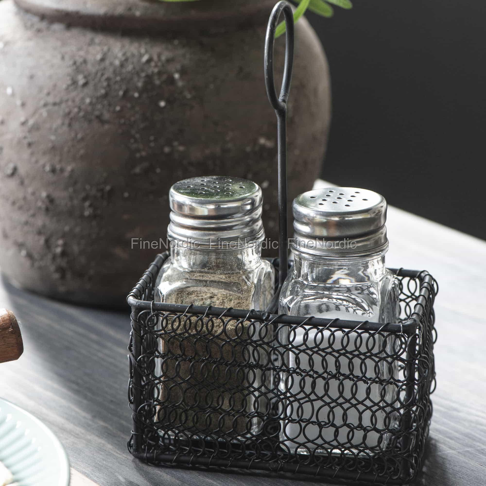 und Pfeffermühle schwarz IB Laursen Salz